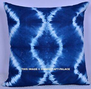 1045f78feb09f Details about Indian Tie Dye Shibori Pillow Case Mandala Design Cushion  Cover Pillow Sham 18