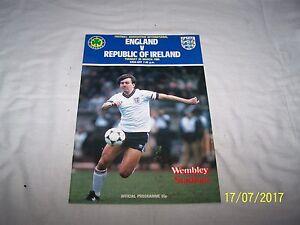 Football Association International Match  Programme  England v Ireland 26385 - Sevenoaks, United Kingdom - Football Association International Match  Programme  England v Ireland 26385 - Sevenoaks, United Kingdom