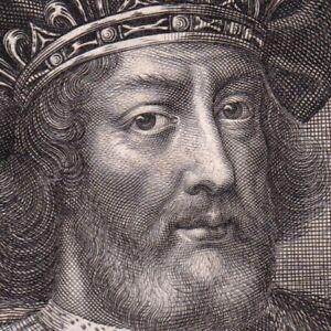 Portrait-XVIIe-Philippe-Ier-Roi-Des-Francs-Anne-De-Kiev-Capetiens
