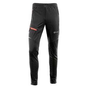 MEN/'S Cycling Pants Casual Bicycle Bike Tights Riding Sports Long Trousers