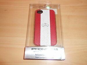 coque-telephone-mobile-PURO-golf-eco-cuir-perfore-iphone-4-4S-neuf