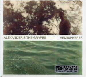 Alexander-And-The-Grapes-Hemispheres-2012-CD-New-amp-Sealed