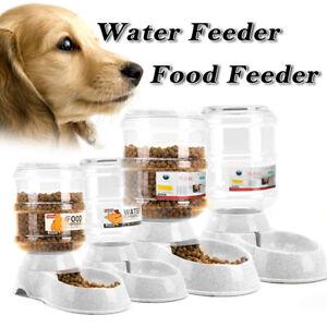 Automatic-Pet-Feeder-Dispenser-Waterer-Dog-Cat-Self-Feeding-Food-Water-Bowl