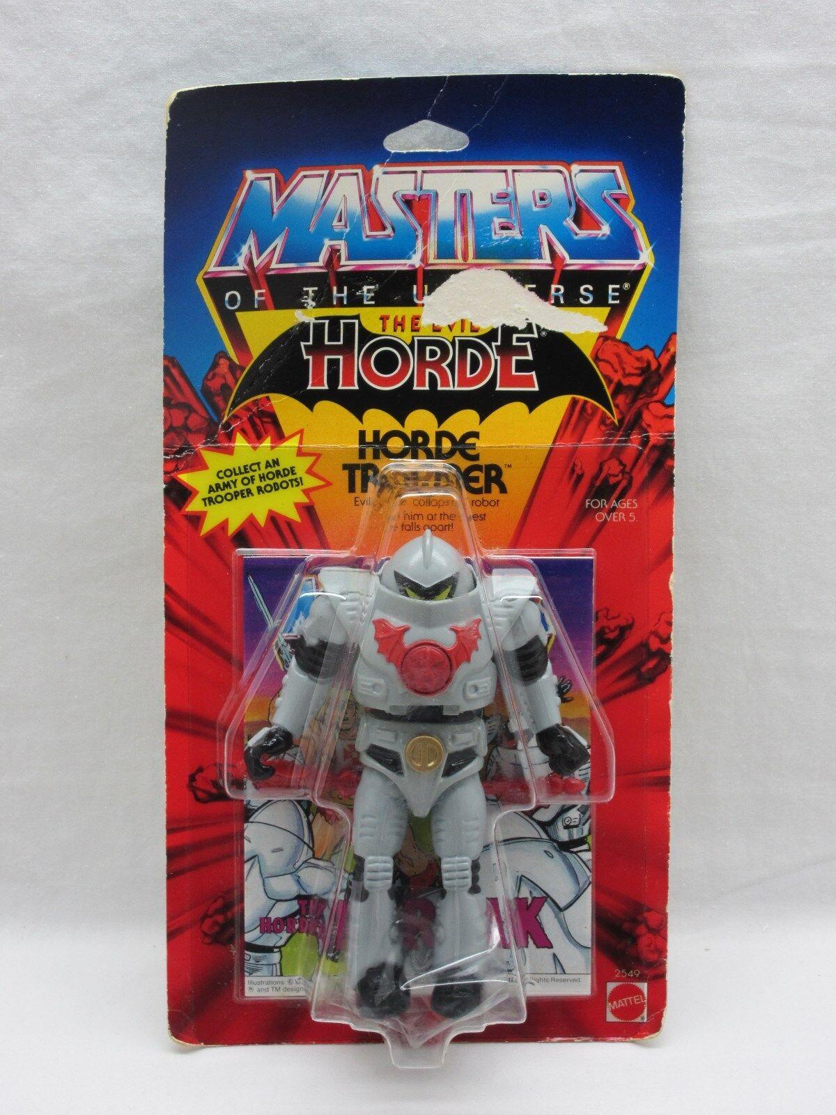 MOTU,Vintage,HORDE TROOPER,Masters of the Universe,MOC,Sealed,figure,He Man
