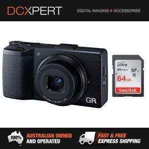 RICOH-GR-II-CAMERA-amp-SANDISK-64GB-ULTRA-SD-CARD-175847