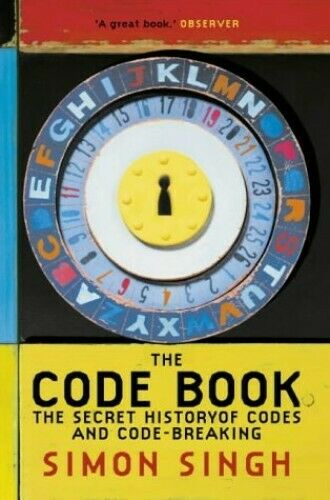 The Code Book: The Secret History of Codes and Cod... by Singh, Simon 1857028899
