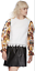 MSGM-Floral-Balloon-Puff-Sleeves-White-Lace-Top-UK-16 miniatuur 3