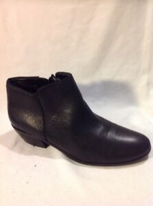 Sam Black Ankle 36 Boots Edelman Size Leather wgf8Ow0