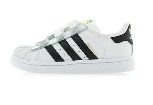 online store c034e 229b2 Image is loading New-Adidas-toddler-shoes-SUPERSTAR-FOUNDATION-CF-I-