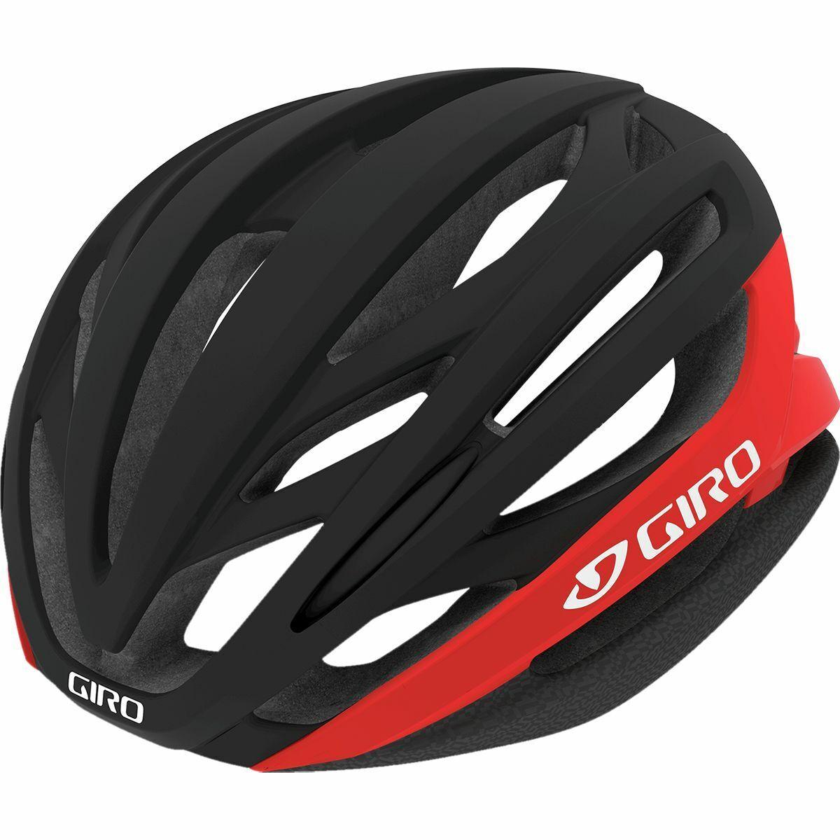 Large Bright Red//Black Giro Unisex Adult Foray Helmet