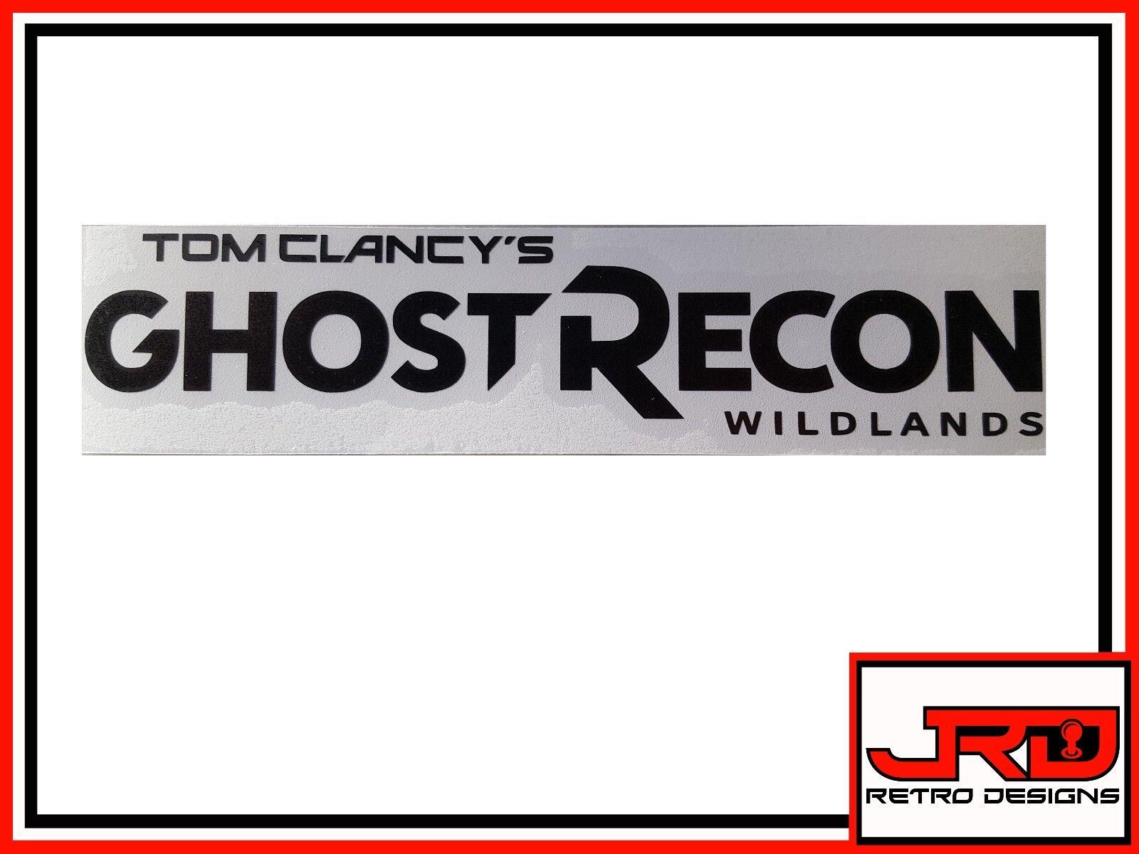 Ghost Recon Wildlands Logo Vinyl Sticker in Black