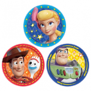 Disney Pixar Toy Story 4 Birthday Party Small Cake Plate 8 Pack