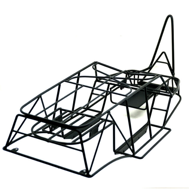 Steel Chassis Frame Body Roll Cage For 110 Rc Truck Axial Wraith