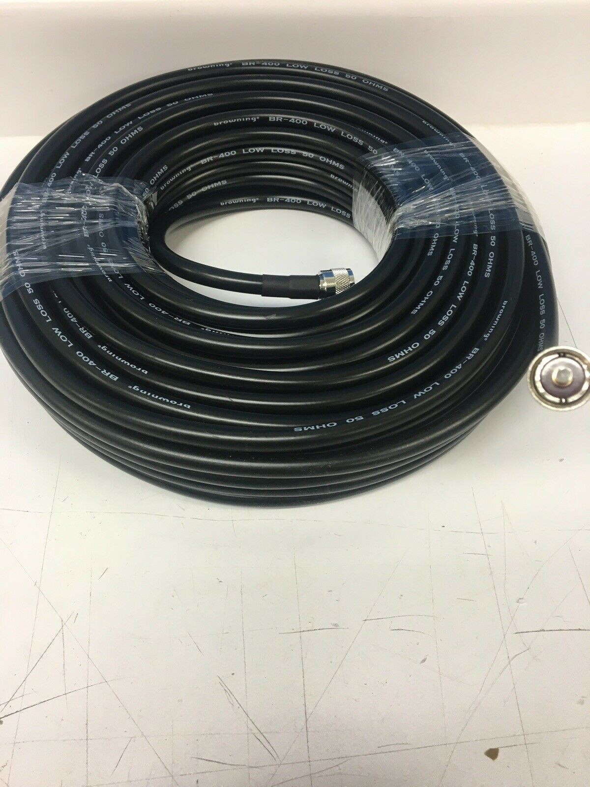 LMR-400 100' Super Low Loss High Power Coax Cable Browning USA PL-259 To PL-259. Buy it now for 110.00