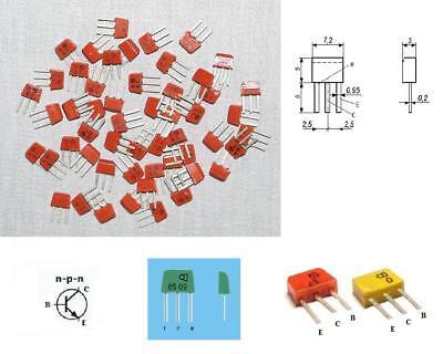 2SC633 KT315A = 2N2712 Lot of 200 pcs BFP719  Silicon Transistor NPN