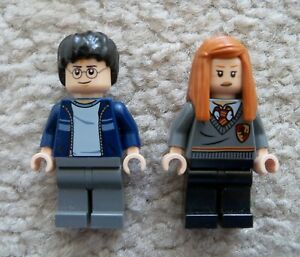 "HARRY POTTER LEGO LOT  MINIFIG  MINIFIGURE  /""  GINNY WEASLEY    4841   /"""