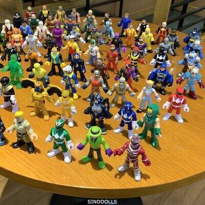 LOT 4 Imaginext Power Rangers Batman FIRESTORM SKELETON GHOST DC figure toy gift