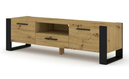 TV Stand NUKA 160 cm Lowboard Schrank TV Tisch Sideboard Kommode Hi-Fi Tisch