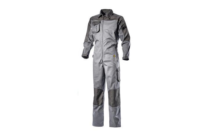 Costume élastique travail Homme élastique Costume Diadora Utility Coverall gris taille L 8a4283