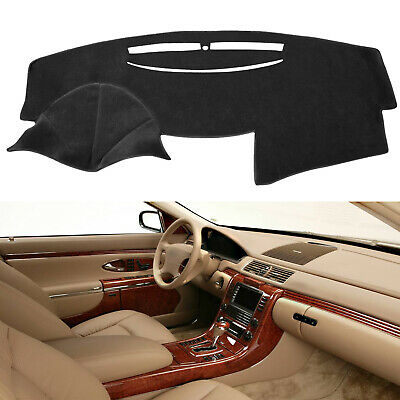 NDRUSH Dash Cover Non-Slip Silicone Dashboard Carpet Compatible with Toyota Camry 2007 2008 2009 2010 2011 Black