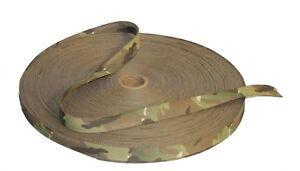 """19mm - 3/4"""" Double Sided Crye Multicam Webbing with CTEdge™"""