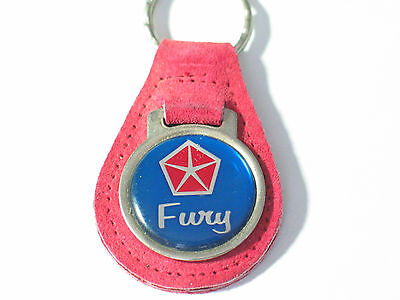Plymouth Fury Keychain ,  (1) keychain Ask if I have your color (#1385)(**)