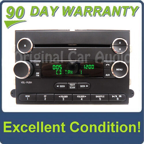 Ford Expedition Radio Single Disc CD Player MP3 Satellite Receiver AM FM Stereo