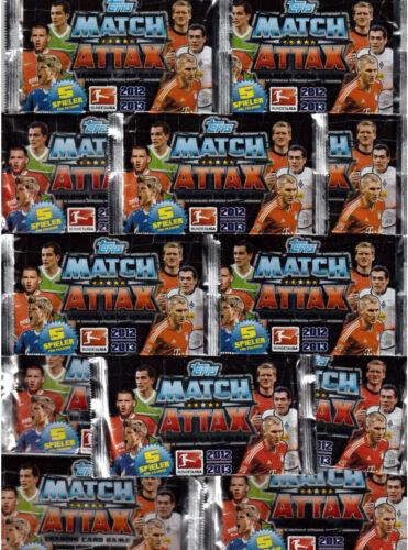 Topps match coronó//trading cards//10 bolsas embalaje original//2012-2013//12-13