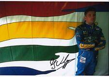 Jos Verstappen Hand Signed Mild Seven Benetton Ford F1 Photo 12x8 1.
