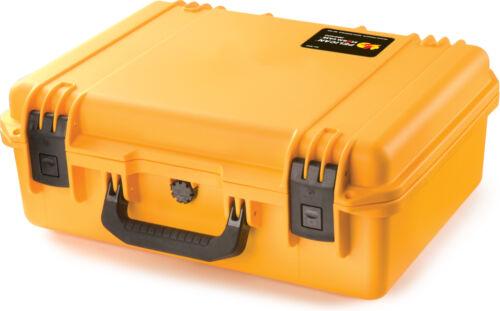 Pelican Yellow im2400 Case No Foam Storm