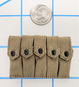 DID 1//6 SCALE WWII AMERICAN POUCH #1 FROM BRYAN MILITARY POLICE A80116