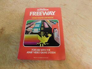 Freeway-Atari-2600-Game-Complete-Box-Manual-CIB