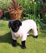 PRINTED KNITTING INSTRUCTIONS - DOG CHUNKY GARTER STITCH ROMPER KNITTING PATTERN