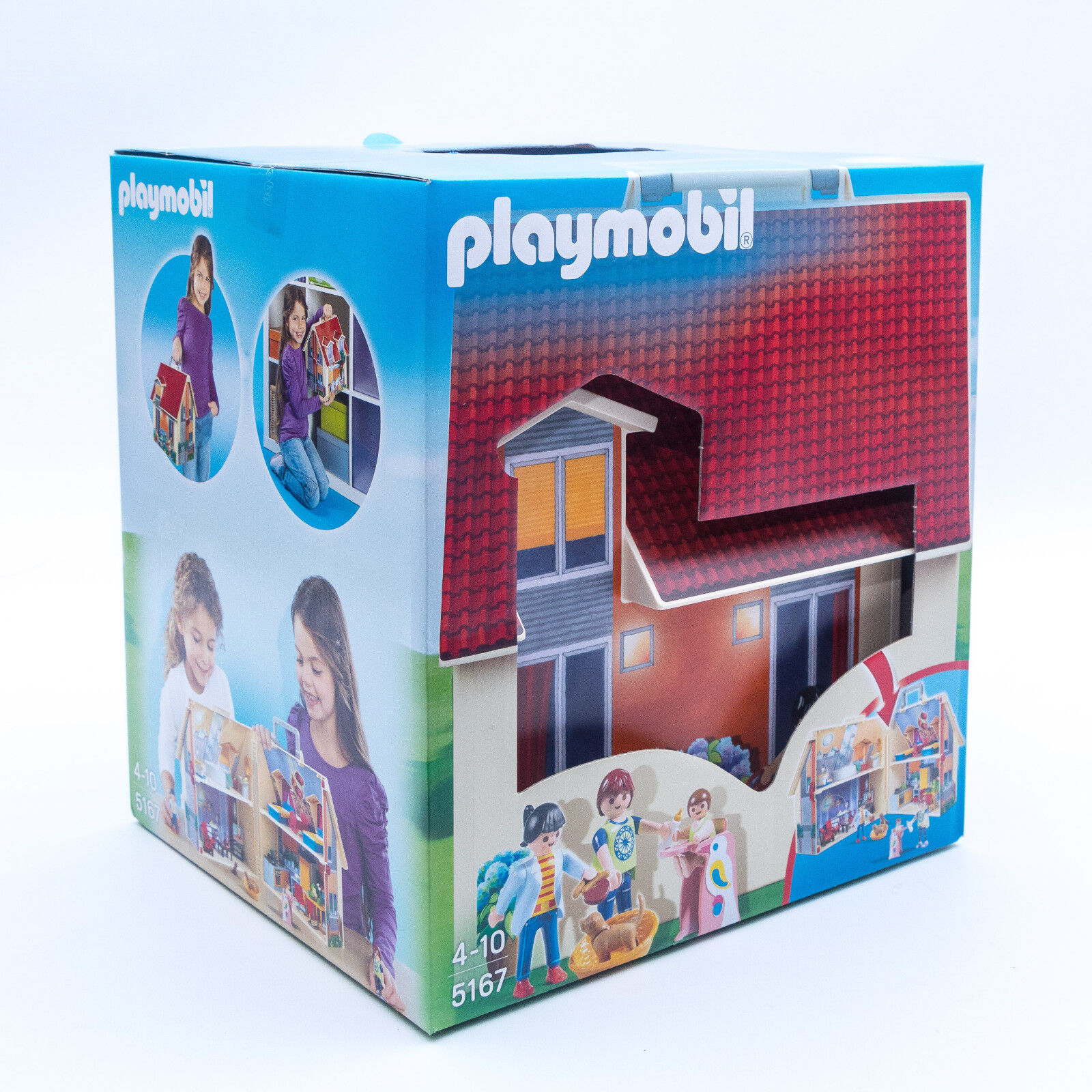 Playmobil 5167 - Mein Neues Mitnehm-Puppenhaus Mitnehm-Puppenhaus Mitnehm-Puppenhaus TV Werbung NEU / OVP f6c7e6