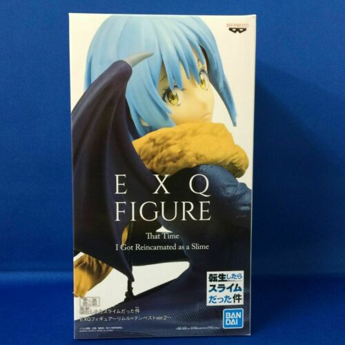Banpresto Rimuru Tempest EXQ figure Vol.2 Reincarnated as a Slime Tensula JAPAN