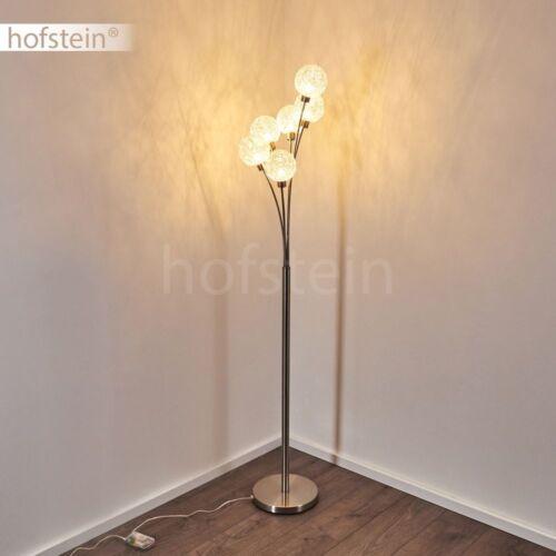 6-flammige Flur Loft Steh Stand Boden Lampe modern Wohn Schlaf Raum Beleuchtung