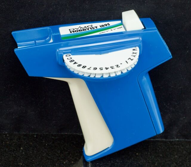 Vintage Retro Dymo Hobbyist Label Maker RARE With Tape For