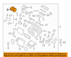 nissan oem 14 17 rogue blower motor 272264bu0a ebay rh ebay com 2013 nissan rogue engine diagram nissan rogue engine diagram