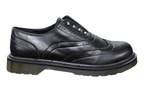 Cuir Pointure 45 Homme Oxford Chaussures Casual 44 Man's Noir Écologique 43 1vfxBW