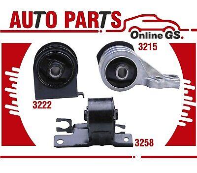2005-2011 for Ford Escape for Mazda Tribute 2.3L 2.5L Engine Motor Mount 3PCS
