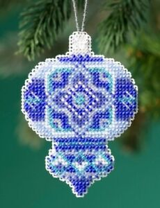 Azure-Medallion-2019-Mill-Hill-Beaded-Holiday-Ornament-Kit