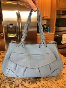 Blue Cole Leather Schultertasche Handtasche Haan zvqqC
