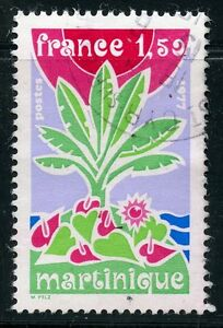 STAMP-TIMBRE-FRANCE-OBLITERE-N-1915-MARTINIQUE