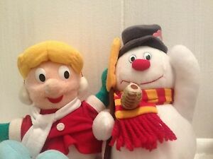 CVS-Plush-Frosty-the-Snowman-Set-of-4-Plush-Characters-Christmas