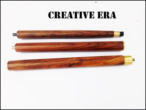 Antique Brass Handle Vintage Style Brown Wooden Walking Stick Cane Handmade Gift