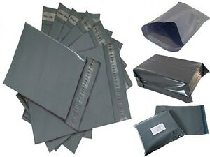 Strong-Grey-Mailing-Post-Mail-Postal-Bags-Poly-Postage-Self-Seal-All-Sizes