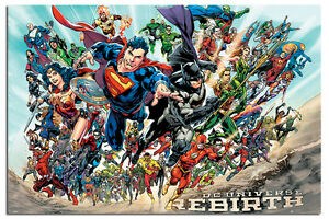 DC-Justice-League-Rebirth-Poster-New-Maxi-Size-36-x-24-Inch