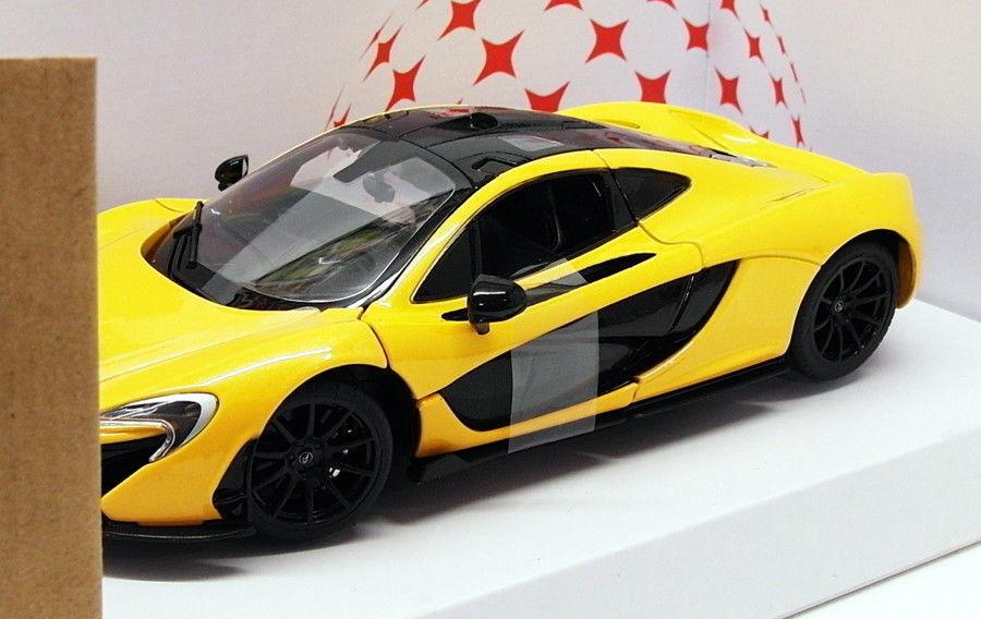 Rastar 1/24 Scale Diecast Model Car 56700 - McLaren P1 - Yellow
