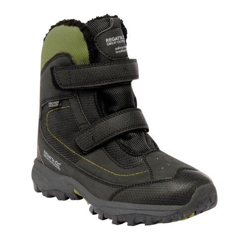 Regatta Blitzer Jnr Kids Lightweight Lined Insulated Boots Black Size UK9