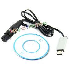 Satge Lighting Controller Dimmer DMX512 Computer PC USB to DMX Interface Adapter